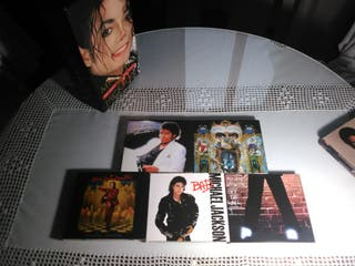Colección de Discos de Michael Jackson