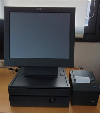 """TPV táctil IBM 15"""" en perfecto estado"""