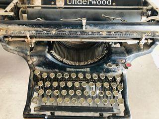Máquina de escribir Underwood U.S.A