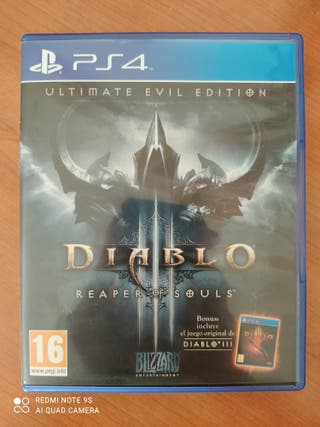 Diablo III: Reaper of Souls UEE (PS4)