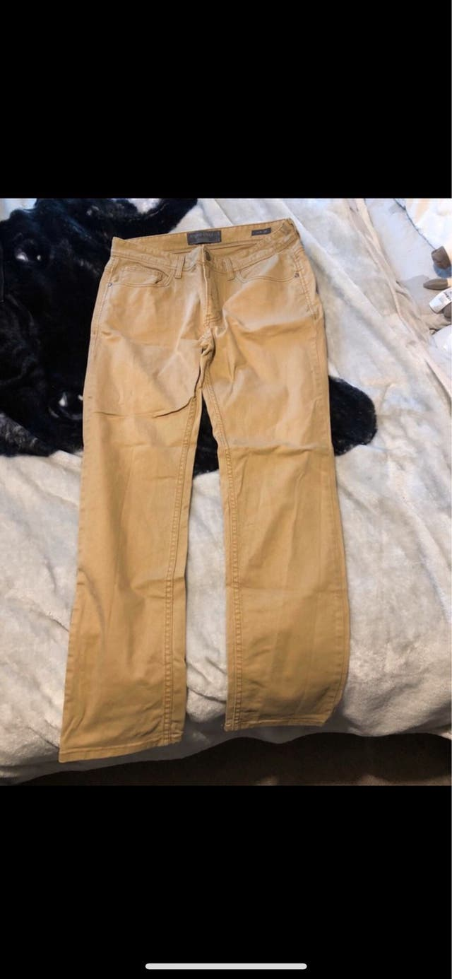 Beige jeans