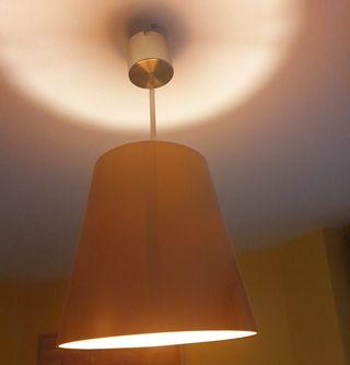 Lámparas de salón color plata y cromo