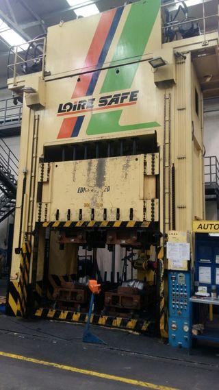 Prensa Hidraulica Loire 800 tn