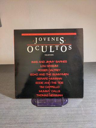 B.S.O. JOVENES OCULTOS THE Lost boys SPAIN LP 1987