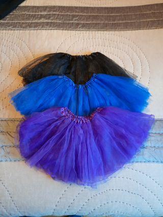 Faldas de tul para niña pequeña