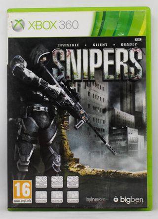 SNIPERS XBOX 360 PAL ESPAÑA