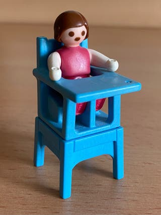 Playmobil bebé con trona casa victoriana