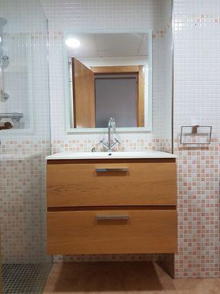 Conjunto Mueble baño, aseo