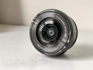 Objetivo Sony 16-50mm