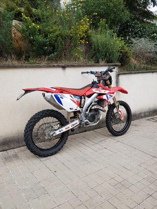 CRF450r matriculada enduro/motocross