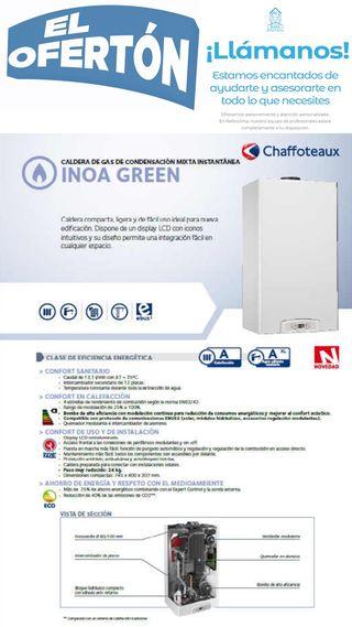 El ofertón de caldera de condensación Chaffoteaux