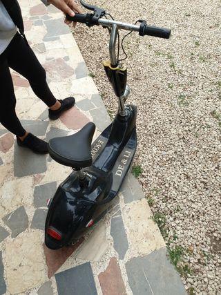patin electrico con sillin