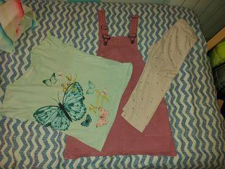 lote de ropa niña de verano