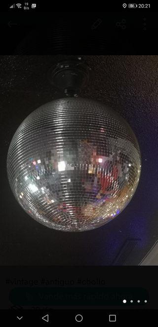 bola discoteca grande con motor