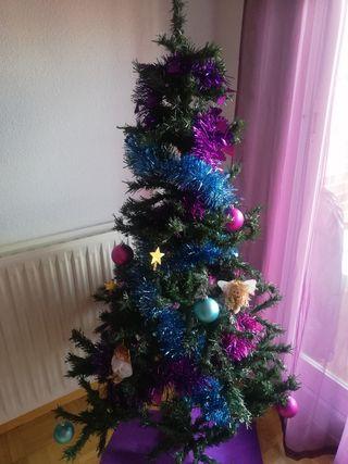 Árbol navidad y decoración