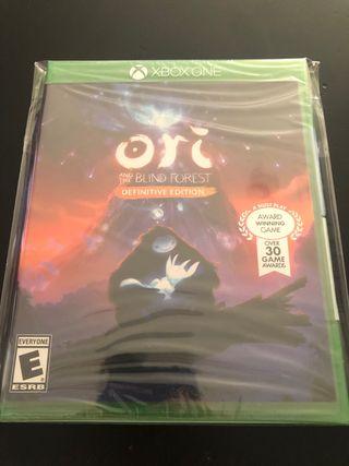 Ori and the blind forest nuevo, precintado. Xbox