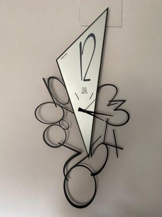 Reloj pared de diseño italiano