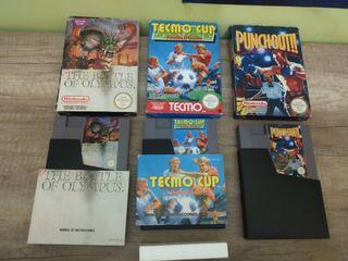 lote juegos nintendo NES