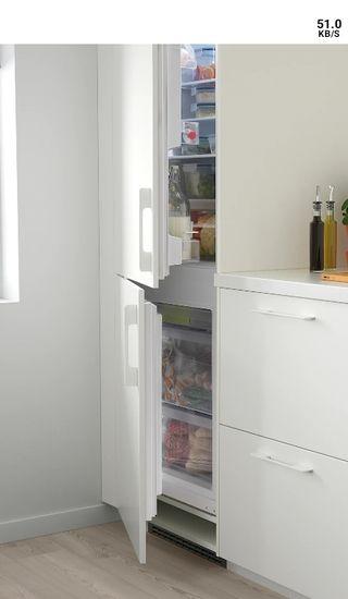 Frigorífico/congelador integrado. URGE