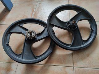 ruedas de palo bici 16 pulgadas