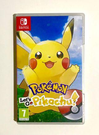 Pokemon Lets Go Pikachu - Switch