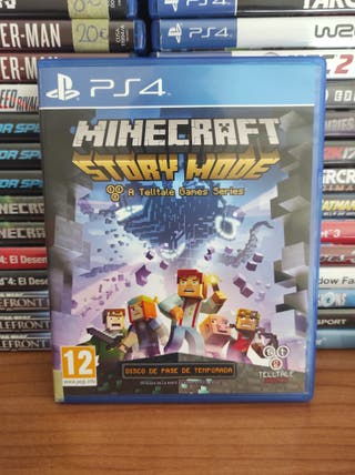 MINECRAFT STORY MODE PS4!!