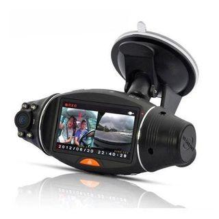 Cámara coche (o caja negra) doble cámara con GPS