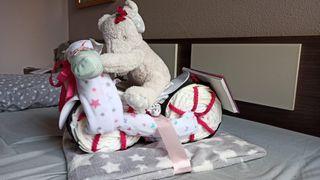 Cesta Moto regalo recién nacido