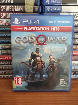 GOD OF WAR PS4!!