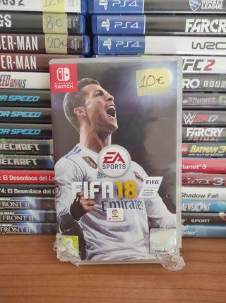 FIFA 18 NINTENDO SWITCH!!