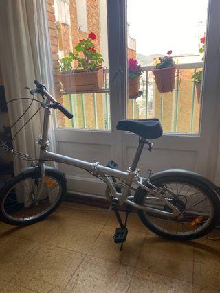 Bicicleta plegable guapisimas