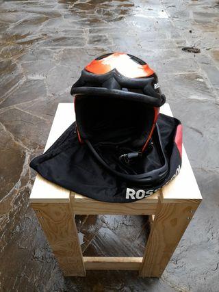 Casco de esqui Rossignol con morrera