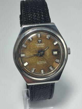 Reloj suizo tissot automático revisado