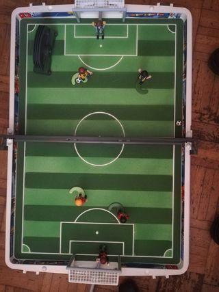maletin playmobil futbol