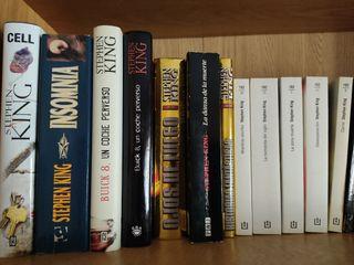 libros Stephen King.