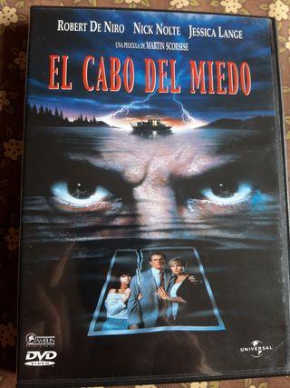 dvd el cabo del miedo
