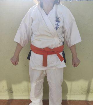 Kimono de Karate con protecciones