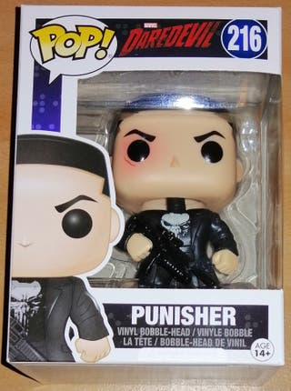 Marvel Daredevil figura POP Vinyl Punisher