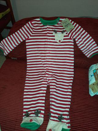 pijama, mono, buzo, disfraz navidad