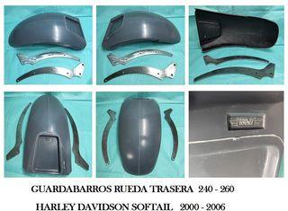 GUARDABARROS H-D SOFTAIL RUEDA TRASERA 240-260
