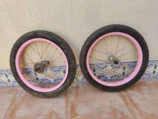 ruedas bici 16 pulgadas