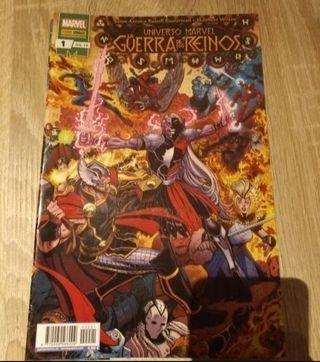 la guerra de los reinos evento Marvel