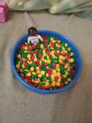 piscina bolas bebé Playmobil