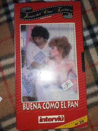 Pelicula cine erótico en VHS. Con el plástico.