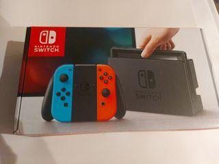 Nintendo Switch + 4 Juegos + Accesorios