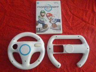 Mario Kart Wii + dos volantes