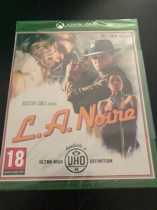 L.A. Noire PAL ESP nuevo precintado. Xbox