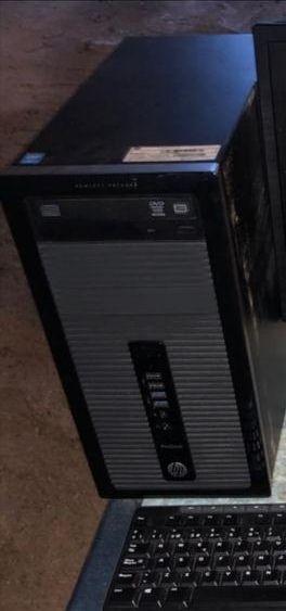 Pc ordenador HP i3 + pantalla LG + teclado y ratón