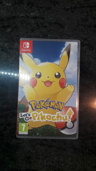 Juego Pokemon let's go Pikachu