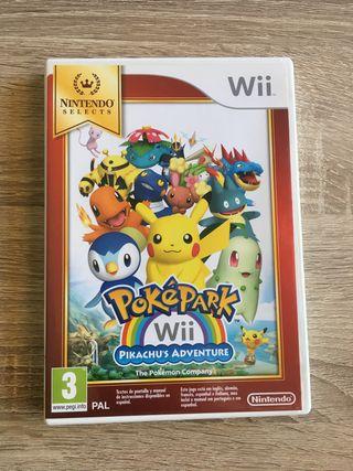 Poképark Pikachu's Adventure wii Completo